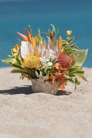 Ku'uipo Protea Tropical Arrangement