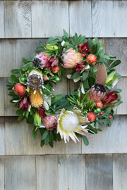 Grapevine Full Christmas Wreath