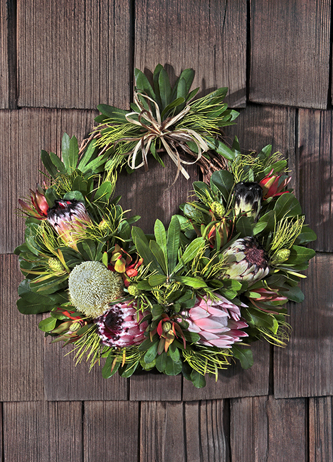 Partial Grape Vine Wreath